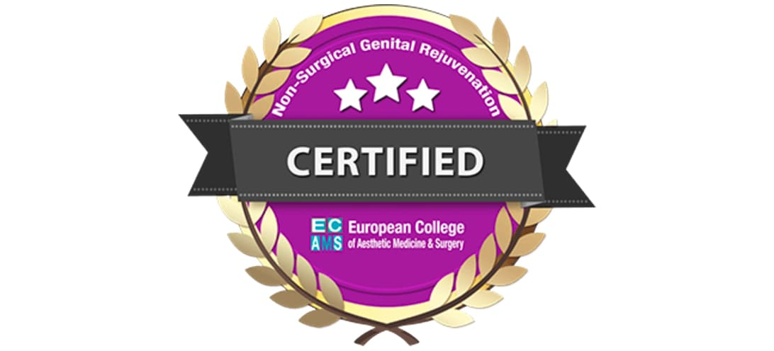 Non-Surgical Genital Rejuvenation CERTIFIED