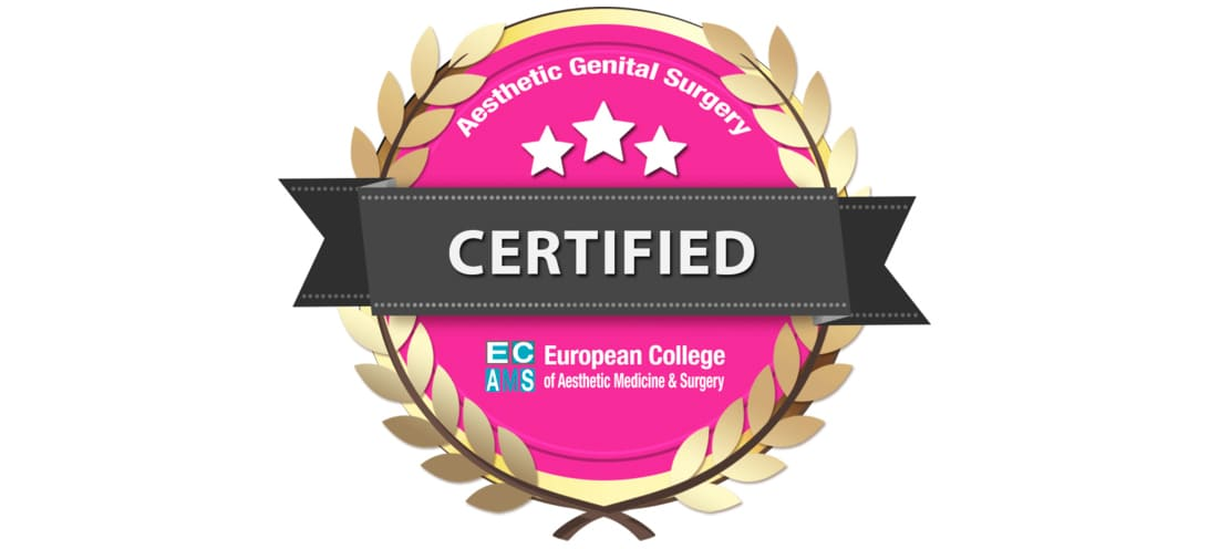 Aesthetic Genital Surgery CERTIFIED